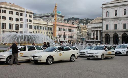Taxi liguri: 100 mila euro dalla Regione