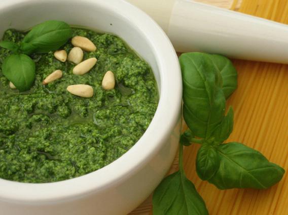 Pesto genovese in apnea: -60%
