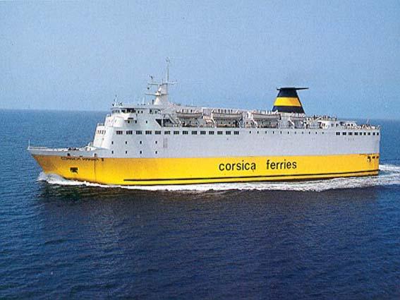 Corsica Ferries, pronta per il Capodanno