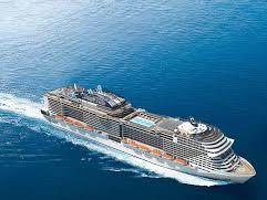 La Msc Fantasia sbarca a Genova