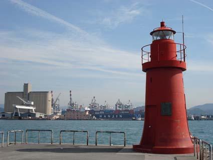 Ampliamenti dei moli nel porto spezzino