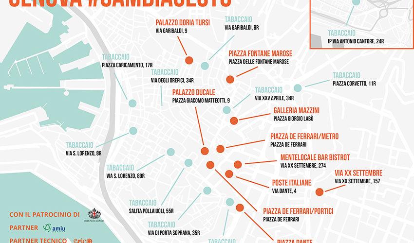 Ambiente, fa tappa a Genova l'iniziativa #Cambiagesto