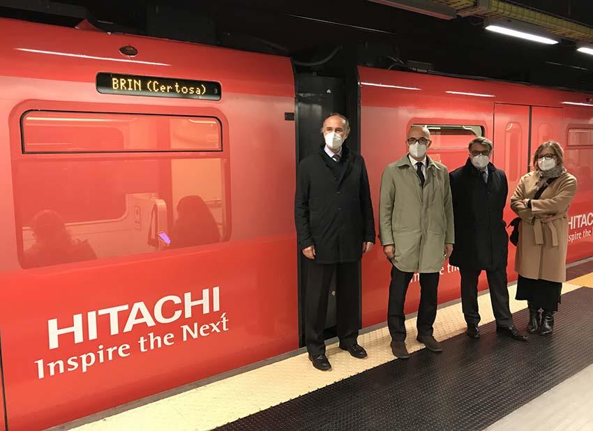 """""""La tua metropolitana"""", la stazione di piazza De Ferrari diventa De Ferrari-Hitachi"""