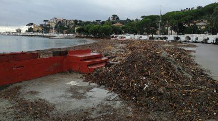 Tigullio: ingenti spese per le mareggiate