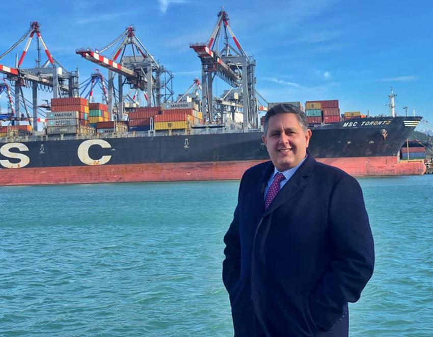 """Porti e logistica, presidente Toti: """"Liguria al lavoro per farsi trovare pronta alla ripartenza"""""""