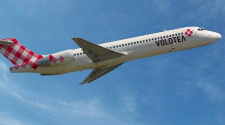 """Volotea: """"Il 90% dei voli puntuali"""""""