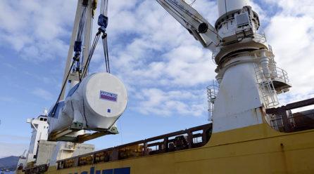 Fagioli completa l'imbarco della turbina a gas più grande mai costruita in Italia