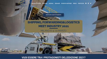 Dall'8 al 10 marzo torna (in streaming) Shipping, Forwarding & Logistics Meet Industry